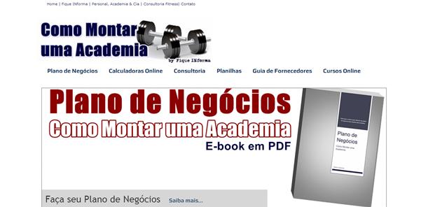 Site Como Montar Academia