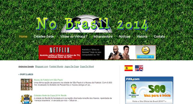 Blog No Brasil 2014