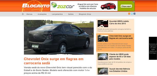 Site de Notícias BlogAuto