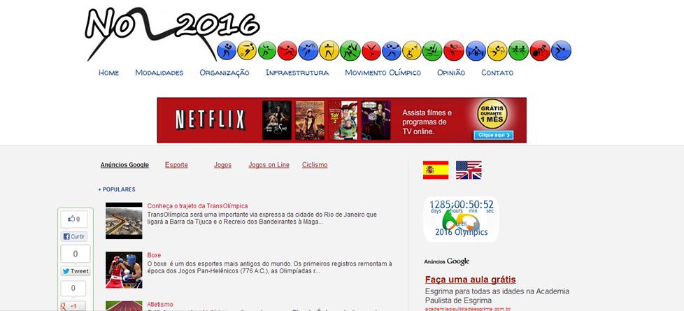 Blog No Rio 2016