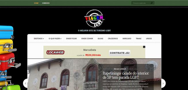 Site Viagem LGBT