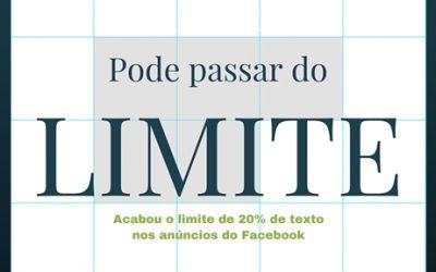 Acabou regra dos 20% de texto nos anúncios do facebook