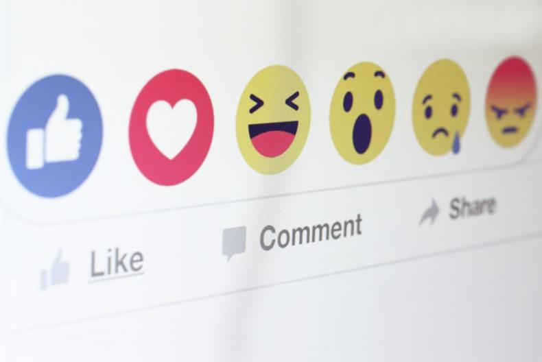 No Facebook reações terão mais peso do que curtidas
