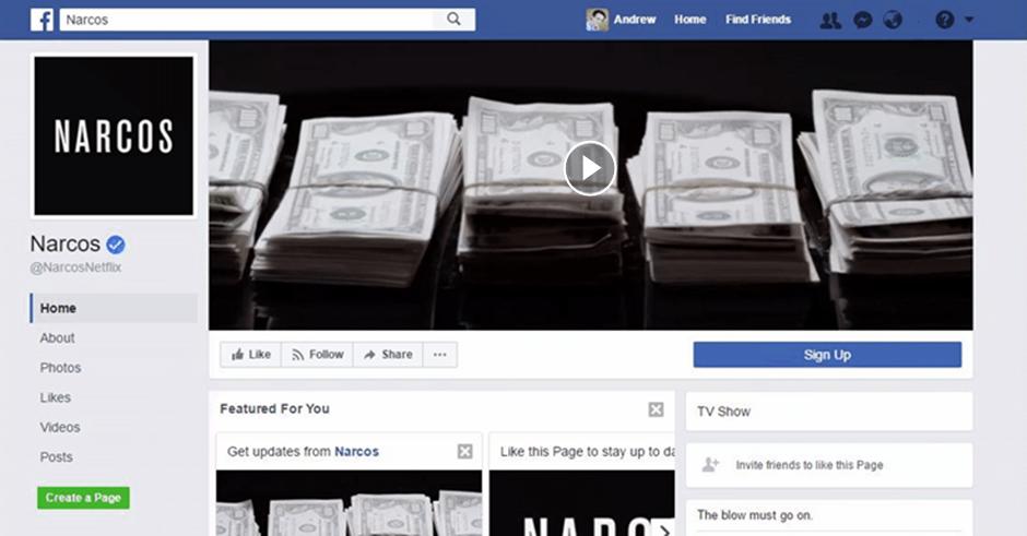 Vídeos na capa do Facebook