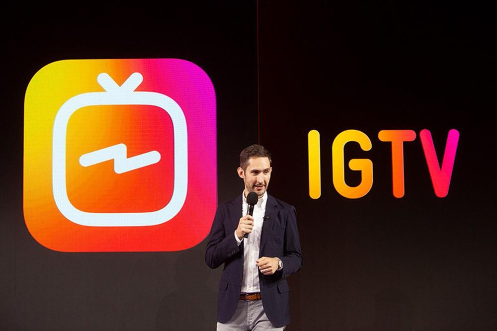 IGTV aplicativo do Instagram para vídeos longos